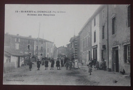 CPA  63 ... Saint Remy Sur Durolle , Avenue Des Bruyeres - Other Municipalities