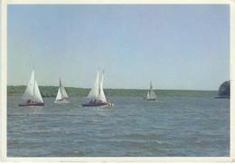 Lac De VIRELLES : Embarcations à Voiles - RARE VARIANTE - Chimay