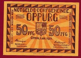 Allemagne 1 Notgeld  De 50 Pf  Stadt  Oppurg  ( RARE) Dans L 'état   Lot N °349 - Collections
