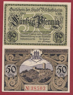 Allemagne 1 Notgeld  De 50 Pf  Stadt  Bischofsheim  ( RARE) Dans L 'état   Lot N °352 - Collections