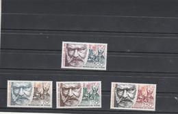 Tchad 1985 Yvert Série PA 299 à 302  ** Neuf Sans Charnière  - Victor Hugo - Littérature - Tsjaad (1960-...)