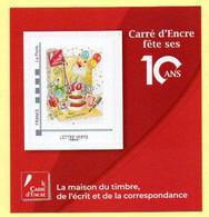 Bloc Collector Carré D'encre Fête Ses 10 Ans. - Autres