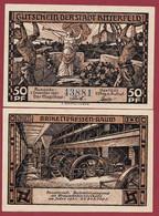 Allemagne 1 Notgeld  De 50 Pf  Stadt  Bitterfeld ( RARE) Dans L 'état   Lot N °354 - Collections