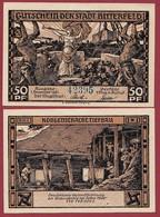 Allemagne 1 Notgeld  De 50 Pf  Stadt  Bitterfeld ( RARE) Dans L 'état   Lot N °355 - Collections