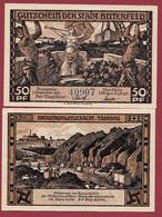Allemagne 1 Notgeld  De 50 Pf  Stadt  Bitterfeld ( RARE) Dans L 'état   Lot N °358 - Collections
