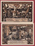 Allemagne 1 Notgeld  De 50 Pf  Stadt  Bitterfeld ( RARE) Dans L 'état   Lot N °359 - Collections