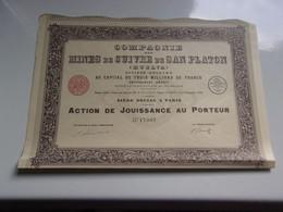 MINES DE CUIVRE DE SAN PLATON (huelva) Imprimerie RICHARD - Unclassified