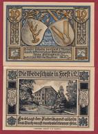 Allemagne 1 Notgeld  De 10 Pf  Stadt  Forst ( RARE) Dans L 'état   Lot N °363 - Collections