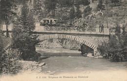 74 Diligence De Chamonix Au Chatelard - Other Municipalities