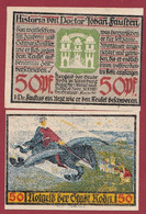 Allemagne 1 Notgeld  De 50 Pf  Stadt  Roda ( RARE) Dans L 'état   Lot N °368 - Collections