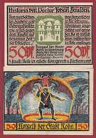 Allemagne 1 Notgeld  De 50 Pf  Stadt  Roda ( RARE) Dans L 'état   Lot N °369 - Collections