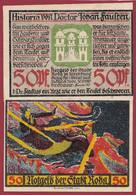 Allemagne 1 Notgeld  De 50 Pf  Stadt  Roda ( RARE) Dans L 'état   Lot N °370 - Collections