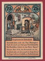 Allemagne 1 Notgeld  De 25 Pf  Stadt  Roda ( RARE) Dans L 'état   Lot N °372 - Collections
