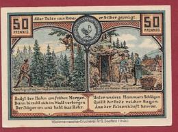 Allemagne 1 Notgeld  De 50 Pf  Stadt  Roda ( RARE) Dans L 'état   Lot N °373 - Collections