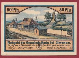 Allemagne 1 Notgeld  De 50 Pf  Stadt  Roda ( RARE) Dans L 'état   Lot N °374 - Collections