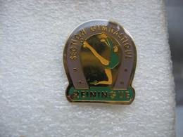 Pin's Section Gymnastique De La Ville De REININGUE (Dépt 68) - Ginnastica