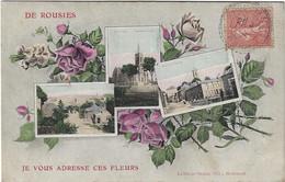 59  Rousies  -   Vues Multiples - Je Vous Adresse Ces Fleurs - Autres Communes