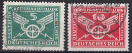 Deutsches Reich 1925 - Mi.Nr. 370 - 371 Y - Gestempelt Used - Usados