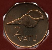 VANUATU 2 VATU 2002 KM# 4 Charonia Tritonis - Vanuatu
