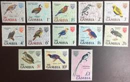 Gambia 1966 Birds Set MNH - Zonder Classificatie