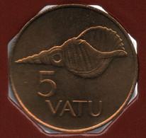 VANUATU 5 VATU 1999 KM# 5 Charonia Tritonis SHELL - Vanuatu