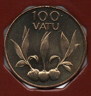 VANUATU 100 VATU 2002 KM# 9 Coconut - Vanuatu