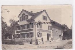 Gutenswil - Restaurant Kreuzstrasse - Animiert - Feldpost         (P-344-10304) - ZH Zurich