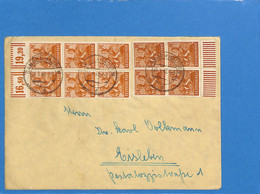 Allemagne Bizone 1948 Lettre De Sangerhausen (G2757) - Zone Anglo-Américaine