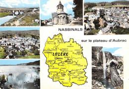 48 - Nasbinals - Carte Géographique - Multivues - Autres Communes