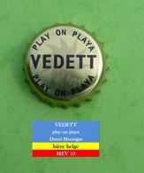 Vedette - Play On Playa - Bière Belge   MEV10 - Beer