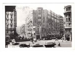 "13047 "" CAIRO-MIDAN SOLIMAN PASHA "" ANIMATA-VEICOLI ANNI '60-VERA FOTO-CART. SPED 1967 - Cairo"