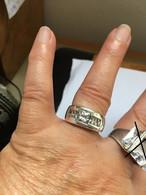Bague En Argent 925 Taille 56 - Rings
