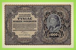 POLOGNE / TYSIAC MAREK POLSKICH / 1000 MAREK / 23 AOUT 1919 / ETAT NEUF - Polonia