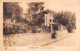 CPA - Algerie, HERBILLON, La Salle Des Fetes, 1943 - Altre Città