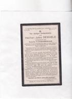 /  SOLDAAT H.DEWAELE °GIJVERINKHOVE - ALVERINGEM 1890 Gesneuveld DIKSMUIDE 1916  (E.VANDENBERGHE) Drukk.DE PANNE - Santini