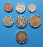 Coinset From Canada From 1c To 2 Dollar, Used - Other - America