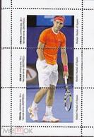 Ukraine Fantasy Label Tennis The Best Players Ferrer, Jo-Wilfred Tsonga, Richard Gasquet, Nadal, Djokovic, Tomáš Berdy - Tennis