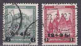 Deutsches Reich 1932 - Mi.Nr. 463 - 464 - Gestempelt Used - Ungebraucht