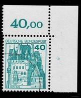 Bund 1977,Michel# 915 O Eckrand - Gebruikt