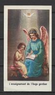 Image Pieuse Enseignement De L'ange Gardien - Devotieprenten