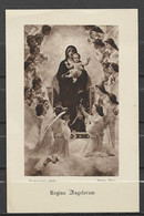 Image Pieuse Regina Angelorum12 Mai 1929 - Devotieprenten