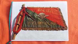CPM DOUBLE REGIMENT 2 EME R E P 3 EME COMPAGNIE DRAPEAU PLOGEUR GENDARMERIE ?MILITAIRE MILITARIA FORMAT 10.5 PAR 14 CM - Regimenten