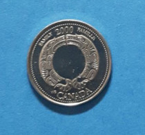 25 Cent Coin From Canada, Used, Commemorative Coin From The Year 2000 - Other - America