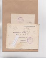 MARCOPHILIE - MILITARIA - COMPIEGNE - FRONTSTALAG 122, CAMP DE ROYALLIEU 1942 Lettre Adressée Au Prisonnier, Cachet - Oorlog 1939-45