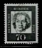 Bund 1961,Michel# 358yR O Imit Nr. 0120 - Rolstempels