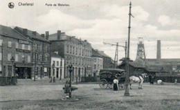 Charleroi   Porte De Waterloo Charette Boulangerie Coopérative Des Ouvriers Réunis N'a Pas Voyagé - Charleroi