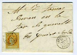 ESPAÑA 1861 CARTA  VALLS  ENE 61 Hasta   PUIGCERDA     LC 11 - Briefe U. Dokumente