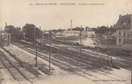10 :  Saint Julien : La Gare Et La Scierie Huot  ///  Ref. Juil 21  /// N° 16.546 - Autres Communes