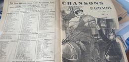 CHANSON POLITIQUE SOCIALE / ALLONS DEIBLER FAUT GRAISSER LA MACHINE/PEINE DE MORT - Partitions Musicales Anciennes