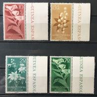 GUINEA ESPAÑOLA 1959 EDIFIL 391/4 ** MNH - Guinea Española